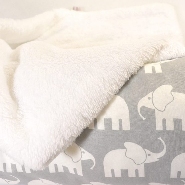 Babydecke ohne Namen Elefant
