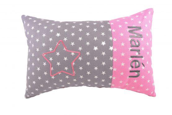 Kissen mit Namen Mädchen Stern