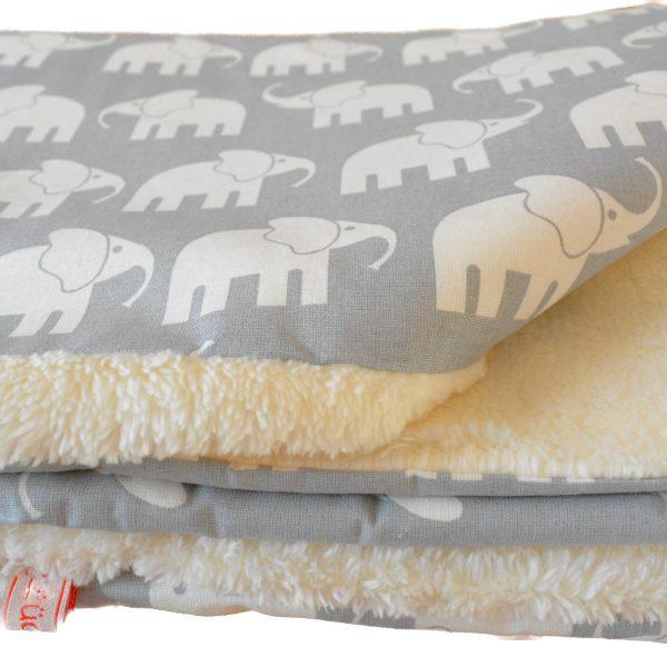 Babydecke Elefant