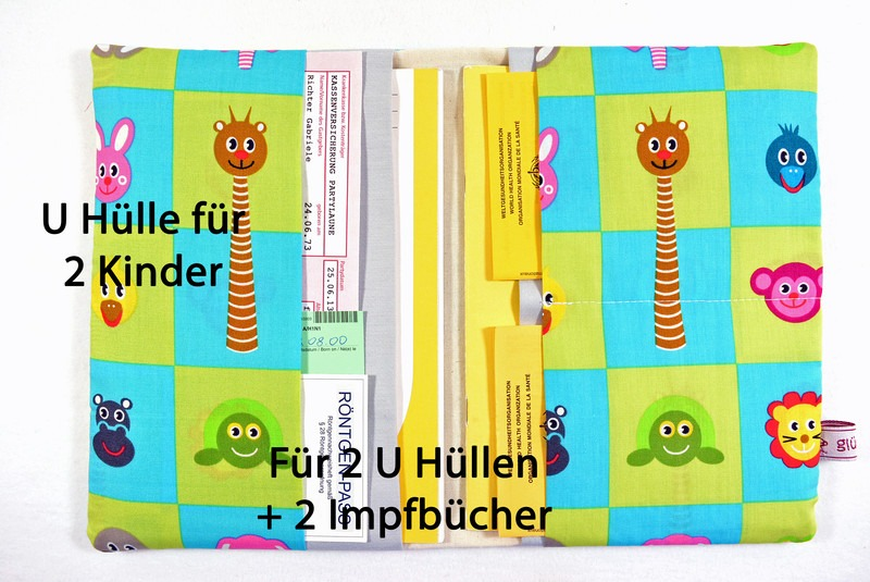 U-Heft Hülle für 1 oder 2 Kinder