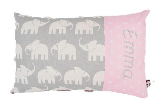 Kissen mit Namen Mädchen Elefant