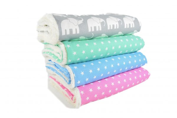 Babydecken aus hochwertiger Baumwolle