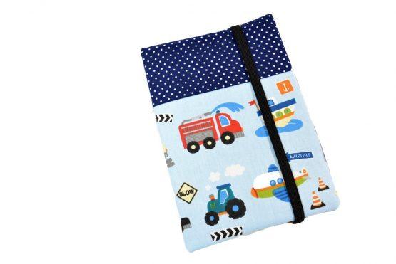 U Heft Hülle Fahrzeuge: Krankenwagen, Zug, Bagger