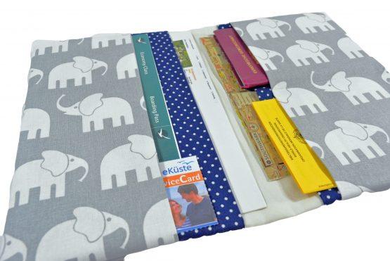Reisepasshülle Elefanten