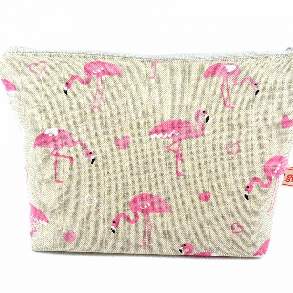 Kosmetiktasche Flamingo